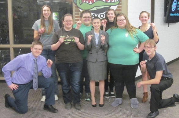 Gators Speech Teams Takes Third at North Bend Speech Meet