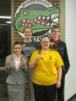 Four Gators Advance to State Speech