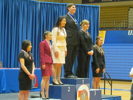 Peck Earns Two Medals at State Speech