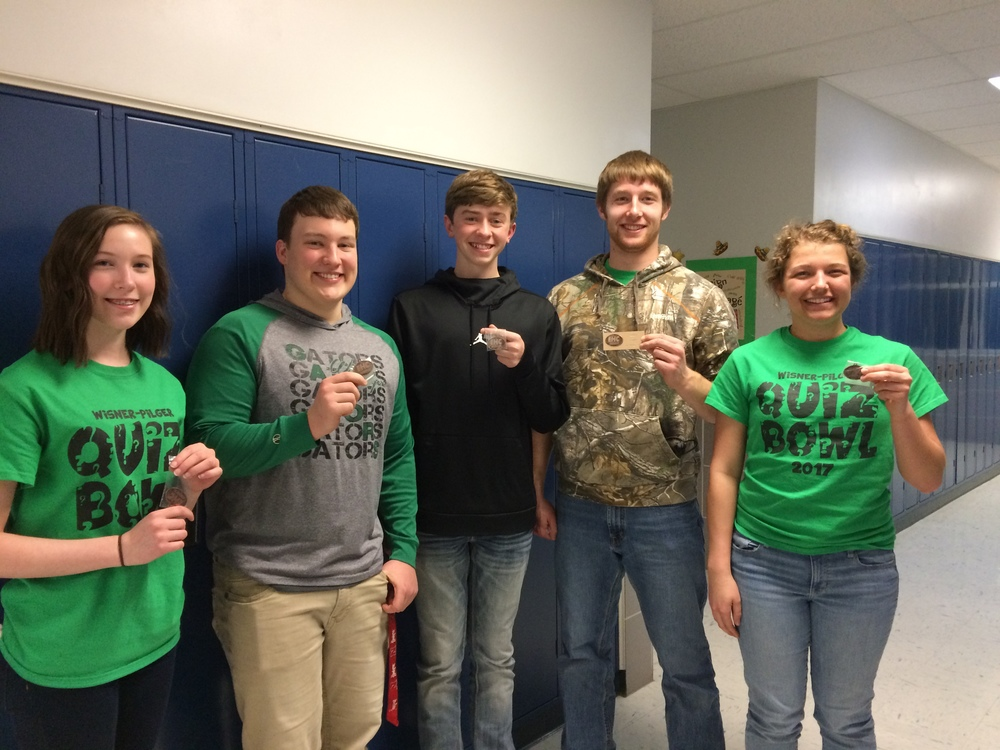 Gators Earn Third Place at Conference Quiz Bowl
