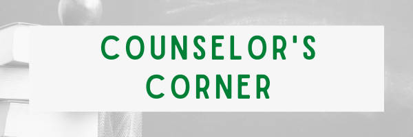 Counselor's Corner: May 2021
